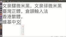 File:TypingChineseCharactersWithCangjieGedit383Ubuntu1310Screencast.webm