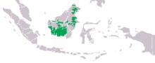 Mapa distribuicao pongo pygmaeus.png