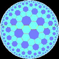Quasiregular skew apeirogon in truncated order-7 triangular tiling.png