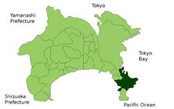 横须贺市位置图