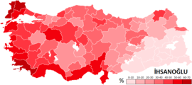 2014 Turkish Presidential Election-İhsanoğlu.PNG