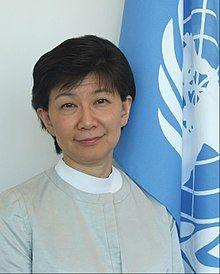 Izumi Nakamitsu, the United Nations High Representative for Disarmament Affairs
