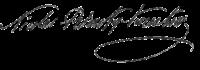 Rimsky-Korsakov's signature