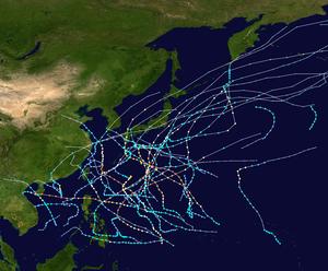 1955 Pacific typhoon season summary map.png
