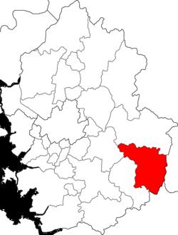骊州市在京畿道的位置图