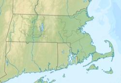 波士顿在Massachusetts的位置