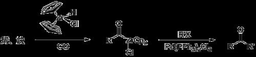 极性转换例子 酰基氯化二茂锆
