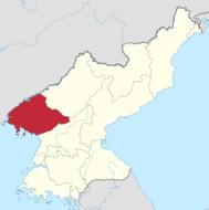 平安北道的位置图
