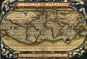 Abraham Ortelius' world map