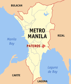 帕特罗斯在菲律宾上的位置