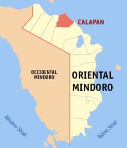 卡拉潘在菲律宾上的位置