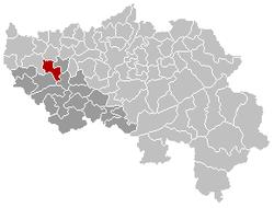 维莱尔斯勒布耶在比利时的位置图