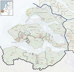 Aardenburg is located in Zeeland