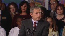 File:U.S. President George W. Bush's remarks to parents and teachers at Emma E. Booker Elementary School (September 11, 2001).ogv