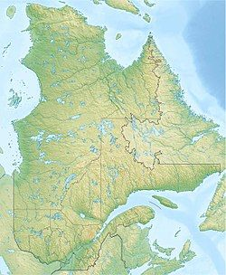 Manicouagan Reservoir is located in Quebec