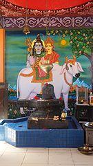 Lingam at Sri Siva Subramaniya Hindu temple, Nadi, Fiji - August 2016.jpg