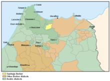 Sanhaja de Srayr - Localization map.png