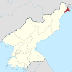 罗先市位置图