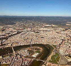 Aerial view (November 2020)