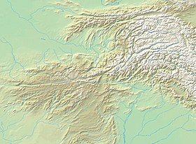 突厥沙希王朝在兴都库什的位置