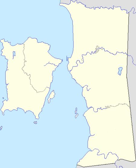 槟城在Penang的位置