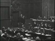 File:Samuel Raizman and Avraham Suzkever testify at Nuremberg Trial.webm