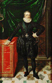 Portrait of Henry IV aged 56