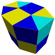 Elongated triangular prismatic honeycomb.png