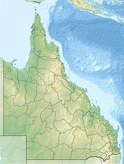 Brown Lake is located in Queensland