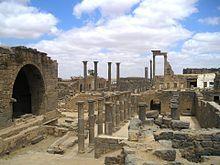 Extensive ruins