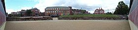 Chester Roman Amphitheatre - panorama from centre 01.jpg