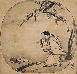 Huang Chuping by Sesshu (Kyoto National Museum).jpg