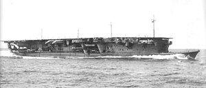 Japanese aircraft carrier Ryūjō underway on 6 September 1934.jpg