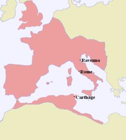 395年的西罗马帝国