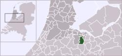 Location of Hilversum