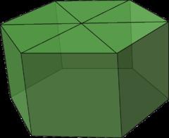 Near miss Johnson solid elongated hexagonal pyramid.png