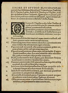 Single pamphlet page with decorative initial capital letter.