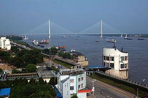 Bridge on the Yangtze River in Anqing Anhui China.jpg