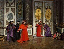 Henri Adolphe Laissement Kardinäle im Vorzimmer 1895.jpg