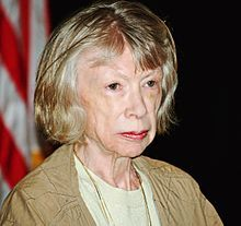 Didion at the 2008 Brooklyn Book Festival