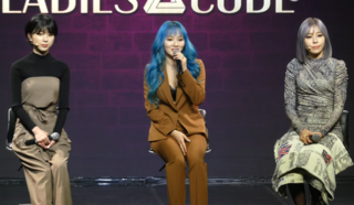 Ladies' Code at a showcase on October 10, 2019.png