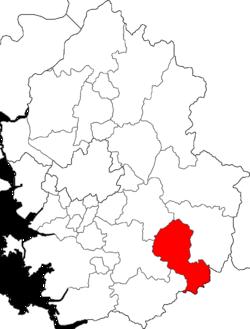 利川市在京畿道的位置图