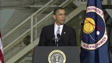 File:President Barack Obama speaks at Kennedy Space Center.ogv