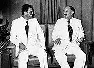 Saddam Hussein and Hassan al-Bakr 1978.jpg