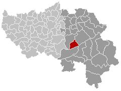 Spa Liège Belgium Map.png