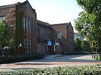 West Building, University of Southampton