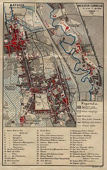 1897 Batvia map