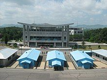 Joint Security Area, Korean DMZ, looking south.jpg