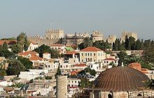 The Grandmasters Palace of the Knights on Rodos island