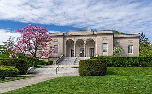William H. Hall Free Library in Cranston